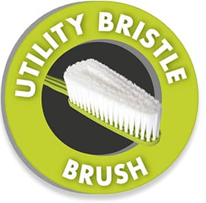 Utility bristle brush